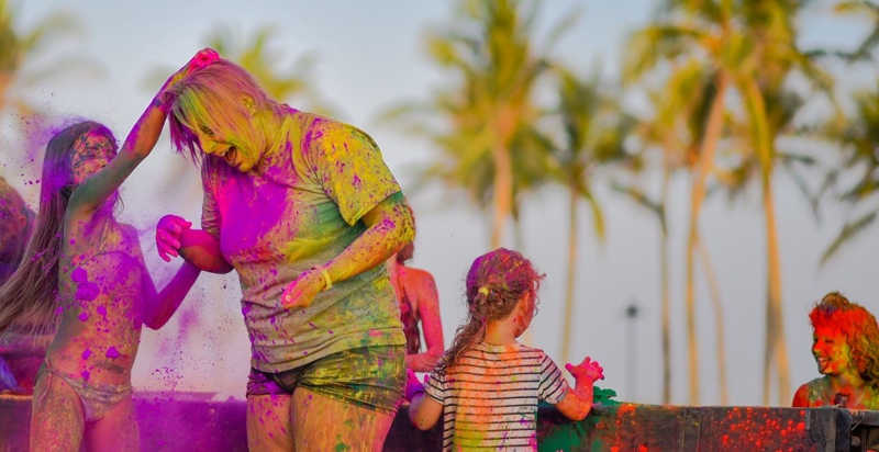 Color party Sport Beach @ Hawana Salalah
