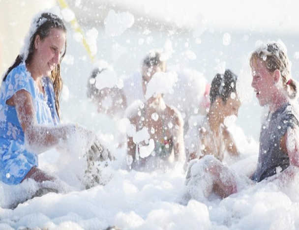 Foam party Sport Beach @ Hawana Salalah
